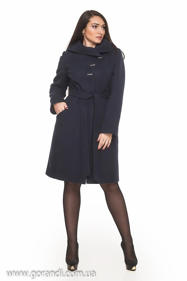 Женское пальто с капюшоном весна осень из кашемира высокого качества.  Силуэт прилегающий b751d6cf3ffbb